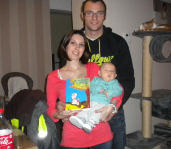 13. Amandine, Geoffrey et Liam